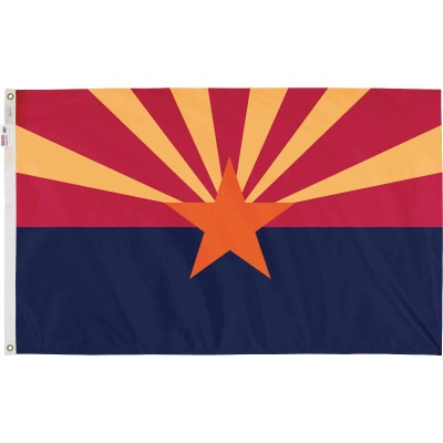 Valley Forge 3 Ft. x 5 Ft. Nylon Arizona State Flag