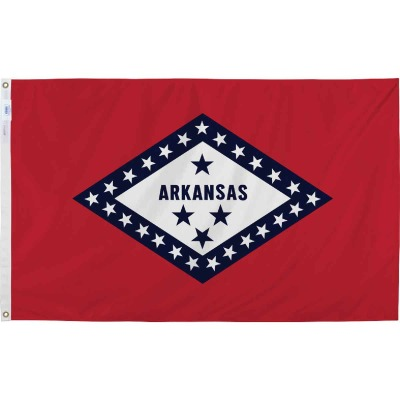 Valley Forge 3 Ft. x 5 Ft. Nylon Arkansas State Flag