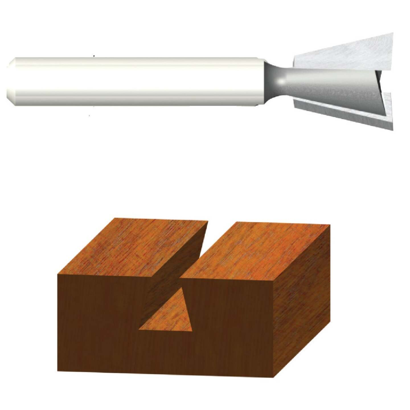 Vermont American Carbide Dovetail 9/16 In. Dovetail Bit Image 1