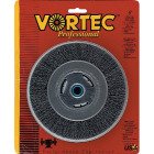 Weiler Vortec 6 In. Crimped, Coarse Bench Grinder Wire Wheel Image 1