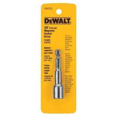 DeWalt 3/8 In. x 2-9/16 In. Magnetic Nutdriver Bit