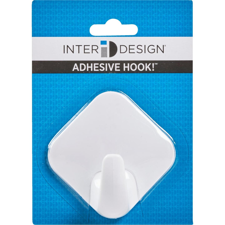 InterDesign Diamond 3 In. Self Adhesive Hook Image 2