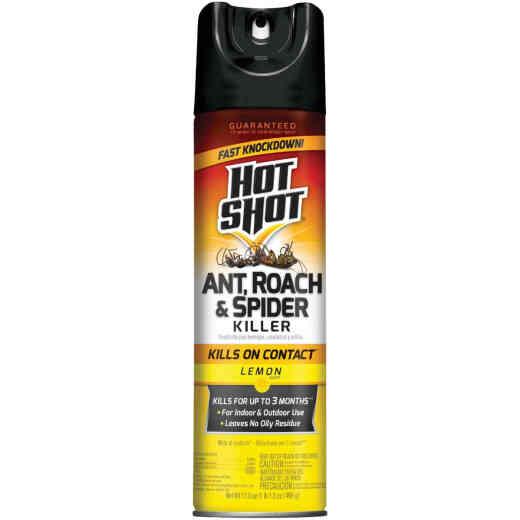 Hot Shot 17.5 Oz. Lemon Fresh Scent Aerosol Spray Ant, Roach, & Spider Killer