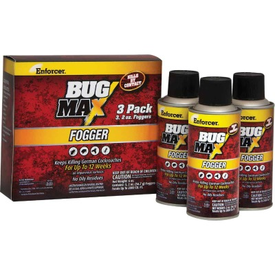 Enforcer Bug Max 2 Oz. Indoor Insect Fogger (3-Pack)