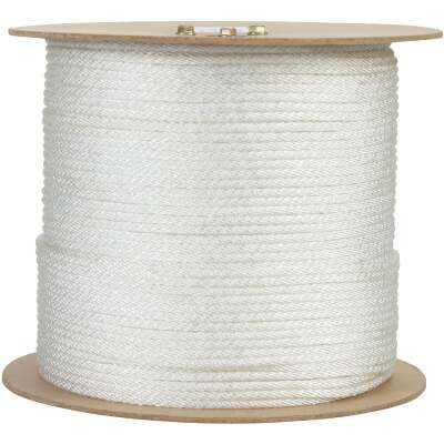 Do it 1/4 In. x 1000 Ft. White Braided UV Resistant Nylon Rope
