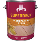 Duckback SUPERDECK Transparent Exterior Stain, Cedar, 1 Gal. Image 1
