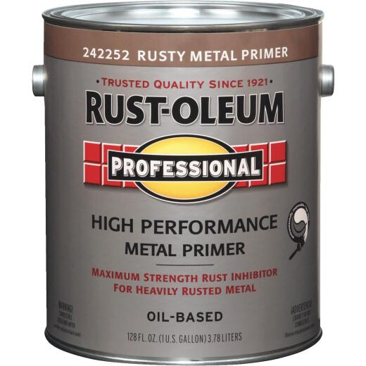 Rust-Oleum VOC Red Rusty Metal Primer For SCAQMD, Red, 1 Gal.
