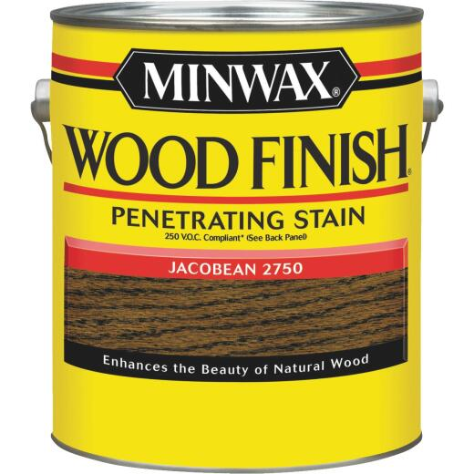 Minwax Wood Finish VOC Penetrating Stain, Jacobean, 1 Gal.